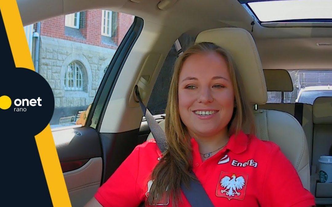 Zofia Kasińska, rehabilitantka Reprezentacji Polski AMP Futbol była gościem programu Onet Rano